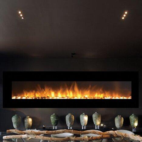Moda Flame Grand Pebble Wall Mount Electric Fireplace Reviews Wayfair