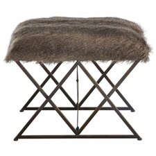 Mcelwain Faux Fur Bedroom Bench by Brayden Studio