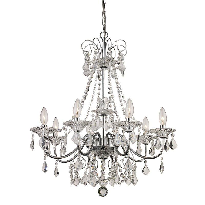 25499 house of hampton jeter 8 light crystal chandelier dealepic 25499 aloadofball Choice Image