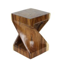Suar Wood End Table by Cole & Grey