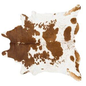 handmade brownwhite area rug