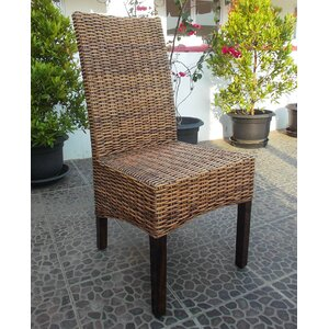 Bougainvillea Solid Wood Dining Chair by Bay Isle Home