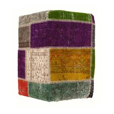 Patchwork Ottoman by Pasargad NY