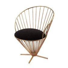 Risner Iron Taper Wire Papasan Chair by Willa Arlo Interiors