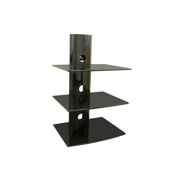 ematic 2 shelf dvd player wall mount