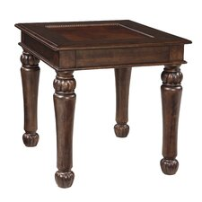 Khadija End Table by World Menagerie
