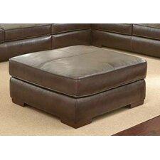 Tennison Leather Ottoman by Brayden Studio
