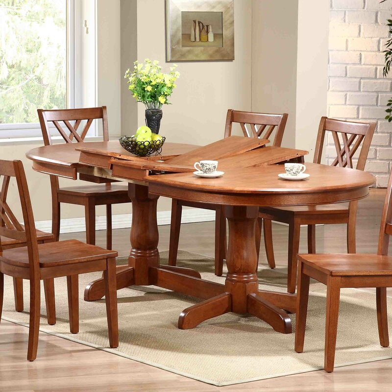 iconic furniture extendable dining table & reviews | wayfair