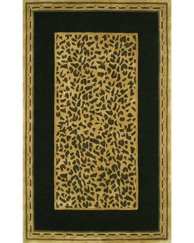 Exceptional American Home Rug Co. African Safari Gold/Black Cheetah Print Area Rug |  Wayfair