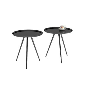 Calle 2 Piece Nesting Tables by Mercury Row