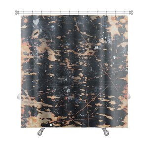 Abstract of Wall Premium Shower Curtain Gear New