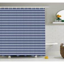 Drew Rope Stripes Pattern Shower Curtain