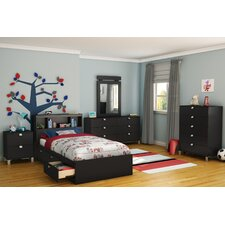 Delighful Bedroom Sets For Kids Twin 3 Piece Set With Bookcase ...