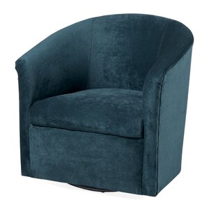 Galen Swivel Barrel Chair by Latitude Run