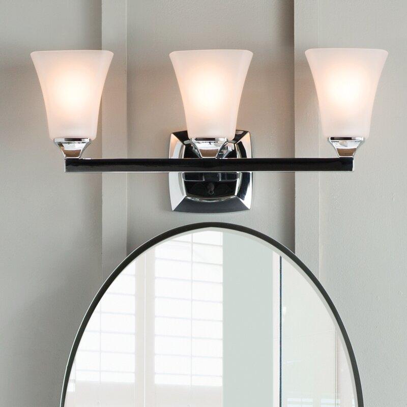 Moen Voss 3 Light Vanity Light Reviews Wayfair