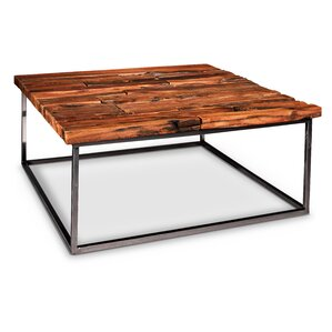 reclaimed wood coffee tables you'll love | wayfair
