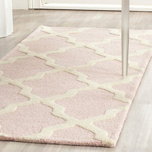 Clifford Light Pink/Ivory Area Rug