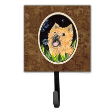 Cairn Terrier Leash Holder and Wall Hook by Caroline's Treasures
