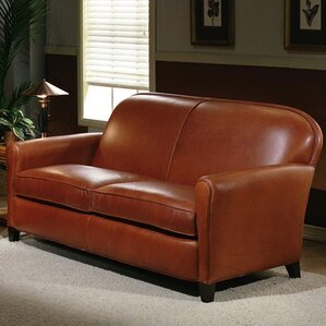 Buenos Aires Leather Loveseat by Omnia Leather
