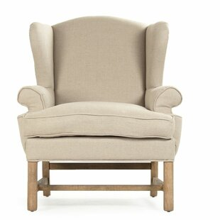 Barnicle Wingback Chair by Dar by Home Co