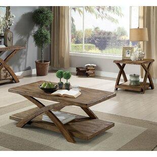 Jaylon 3 Piece Coffee Table Set