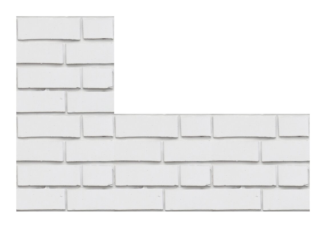 White Bricks Peel And Stick Foam Tiles Wall Decal