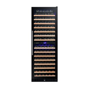 Smith & Hanks 166 Bottle Cooler Dual Zone Convertible Wine Cellar