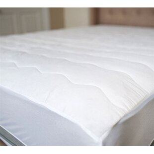 100% Cotton Top Mattress Pad By Alwyn Home