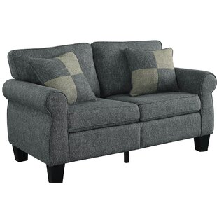 Hedley Upholstered Loveseat by Charlton Home Design
