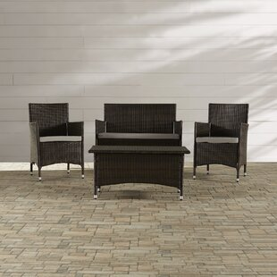 Hogarth Rattan Seating Group by Zipcode Design Read Reviews