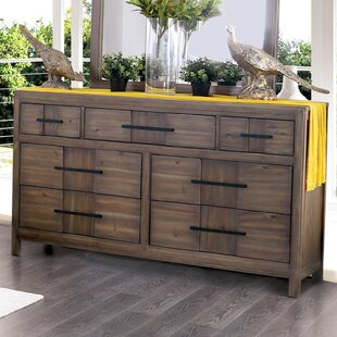 Top Reviews Pereyra 7 Drawer Dresser by Union Rustic