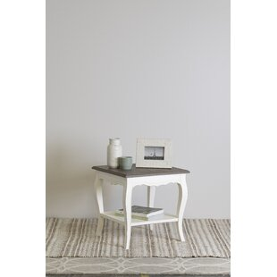 Read Reviews Savion End Table by Ophelia & Co.