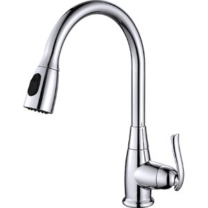 Premium Faucets Pull Down Single Handle Kitchen Faucet