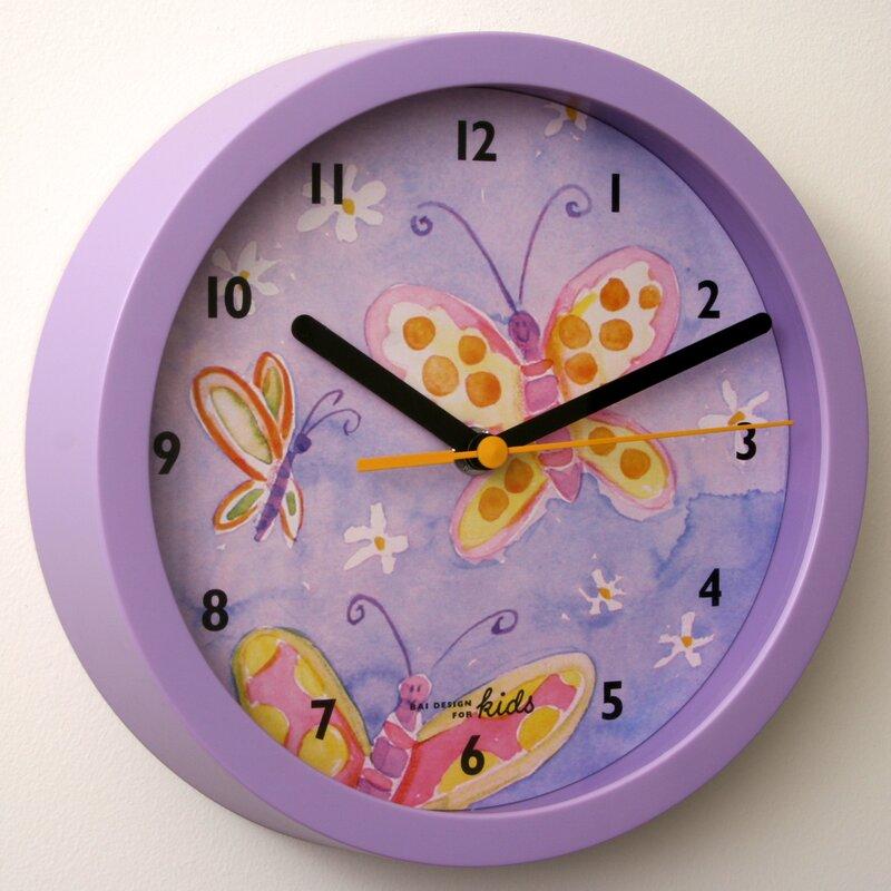 Bai Design 8 Childrens Wall Clock Wayfair