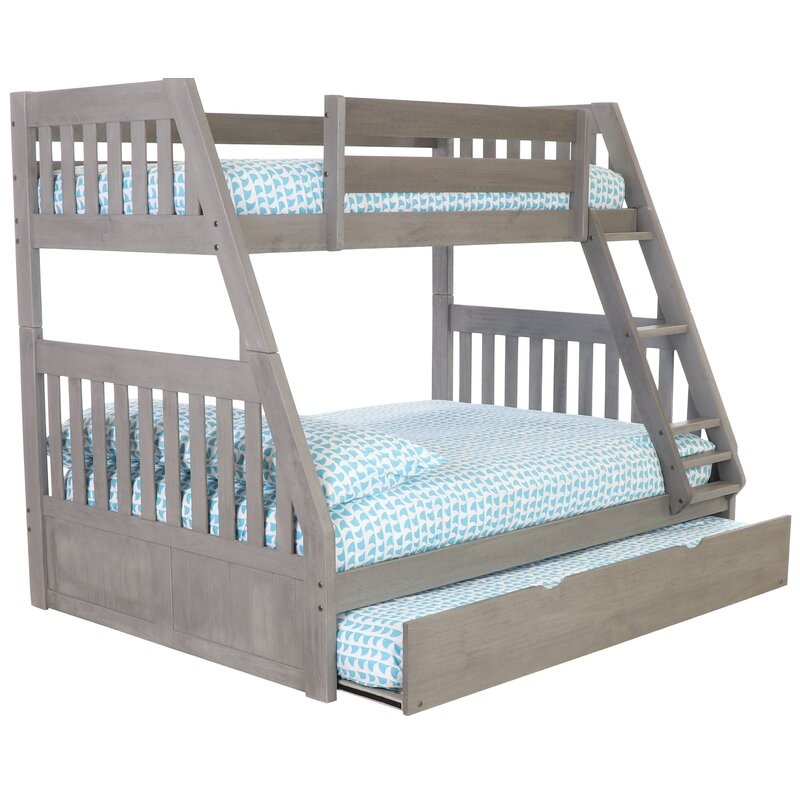 Willey Twin Over Full Bed Bunk With Trundle