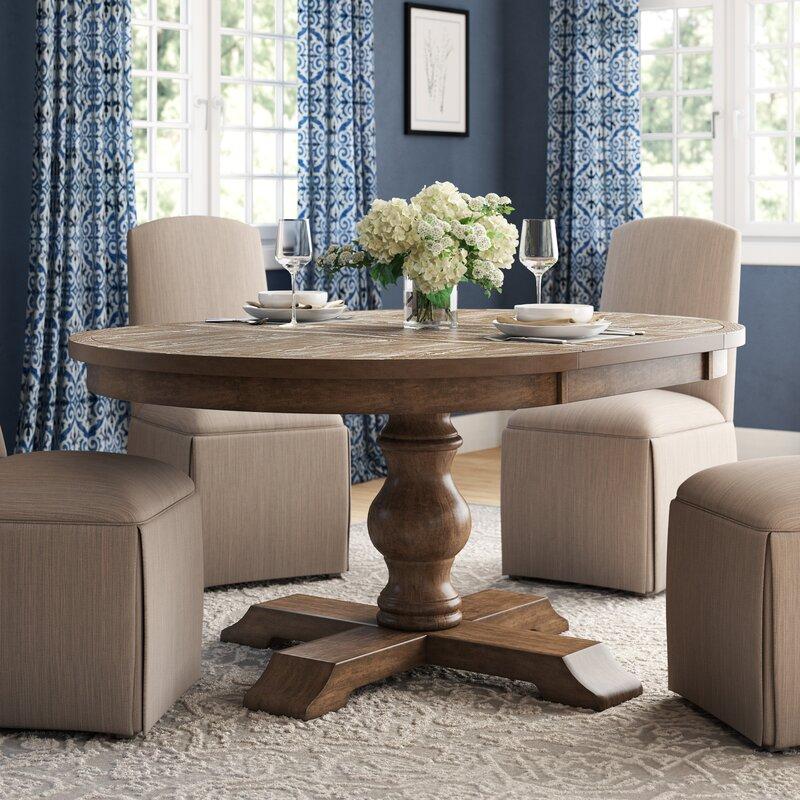 5b1da6490457f4 Laurel Foundry Modern Farmhouse Fortunat Extendable Dining Table ...