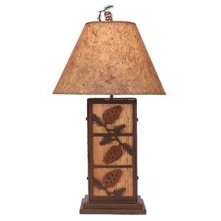 Hastings 3 Pine Cone 32 Lamp