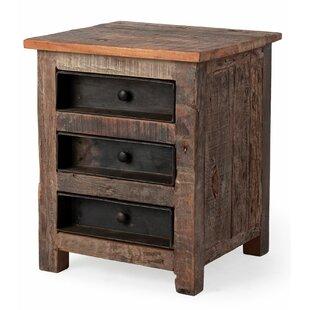 Inexpensive Blairwood 3 Drawer Nightstand by Loon Peak