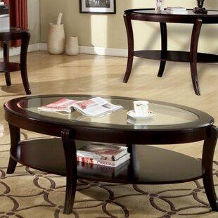 HaddonHeights Coffee Table with Storage Red Barrel Studio