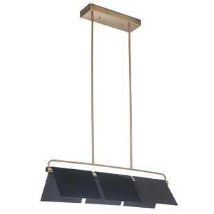 Bene 3-Light LED Pendant by Orren Ellis