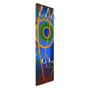 Expression Wall Mounted Coat Rack By Symple Stuff