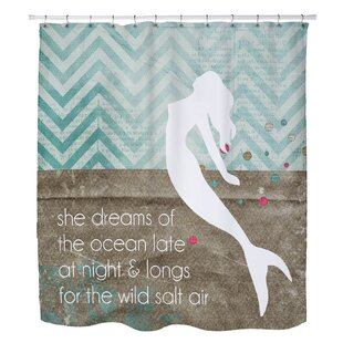 Holte Mermaid Wild Salt Air Single Shower Curtain