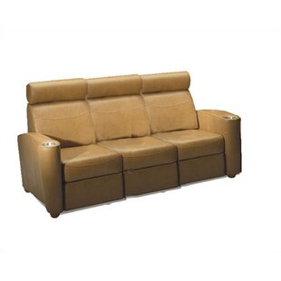 Bass Diplomat Home Theater Sofa (Row of 3)
