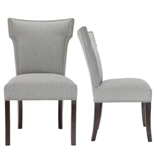 Kober Upholstered Dining Chair (Set of 2) Alcott Hill