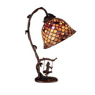 Find Tiffany Fishscale 15 Arched Table Lamp By Meyda Tiffany