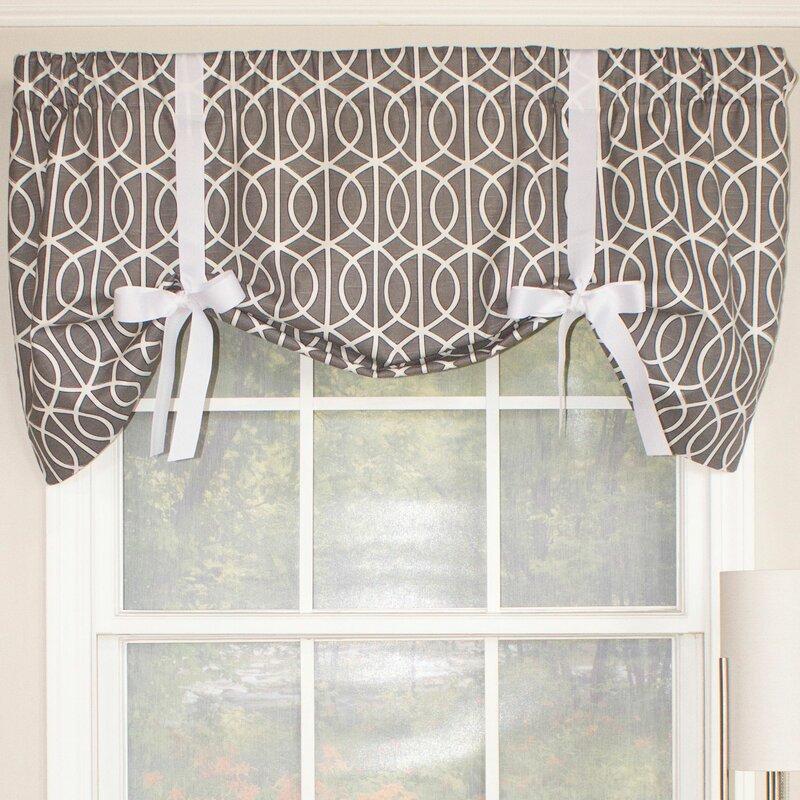 tie up window valance rod pocket sequence tieup 50 rlf home