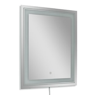 Purchase Frosted Rectangle LED Bathroom/Vanity Wall Mirror BySymple Stuff