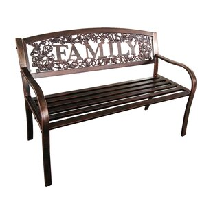 Mooresville Family Steel Garden Bench