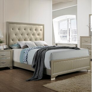 Braysham Upholstered Panel Bed by Rosdorf Park