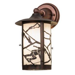 Loon Peak Zeringue Outdoor Wall Lantern